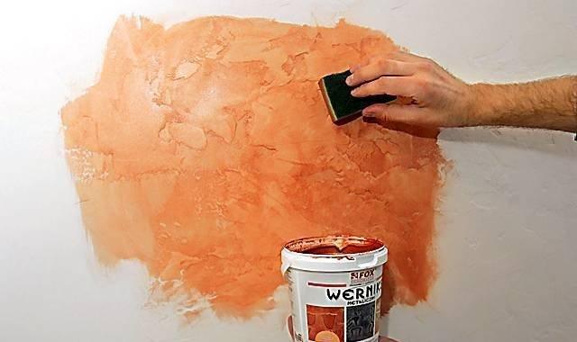 Эксклюзивное покрытие стен мастер класс + видео #10