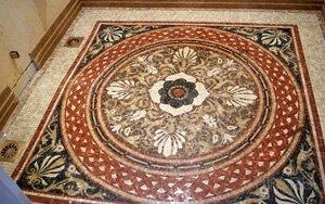 мозаичные полы