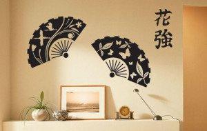 декоративные наклейки в японском стиле