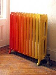 тонируем старый радиатор