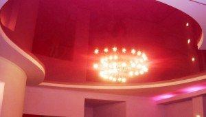 светильник на низком потолке