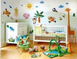 декоративные наклейки в детской