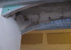 арка - защита от трещин