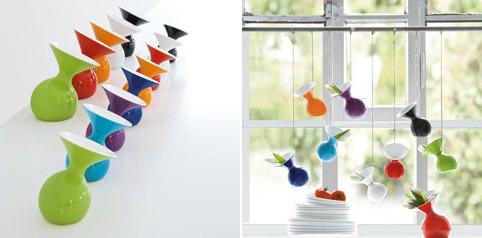 вазы в качестве декора