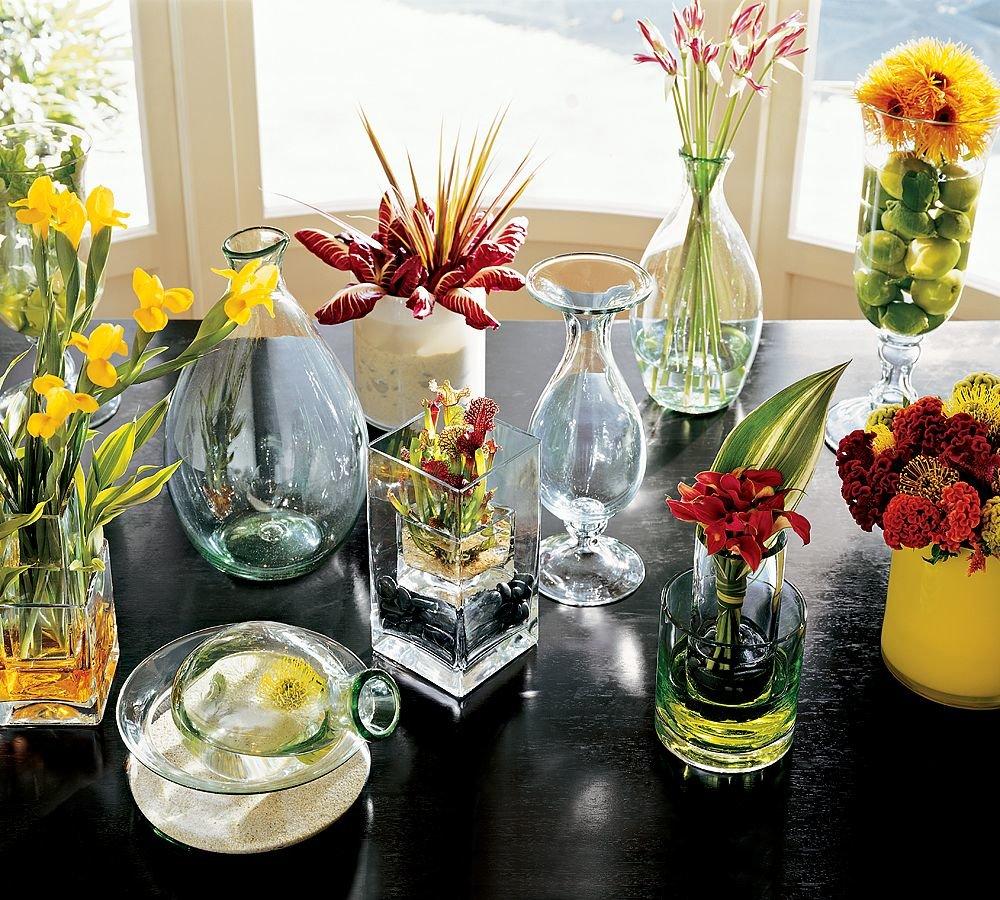 ваза - самодостаточное украшение