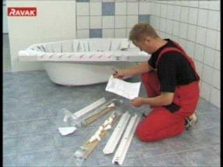 комплектация акриловой ванны