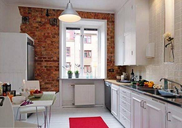 «классический» для хай-тека вид кухни