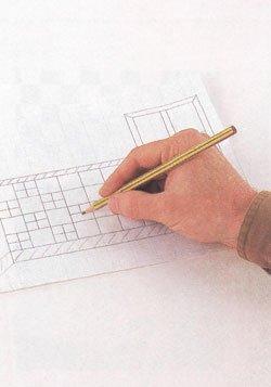 планирование и разметка под мозаику