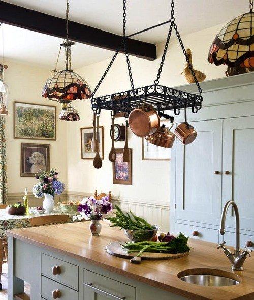 кухонная утварь в стиле прованс