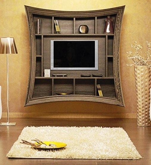 как повесить телевизор