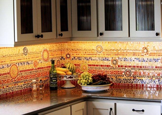 фартук для кухни в украинском стиле