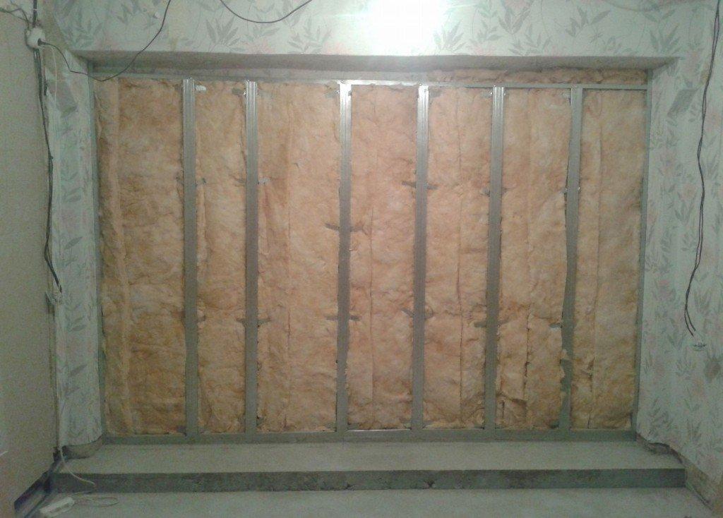 стена с звукоизоляцией