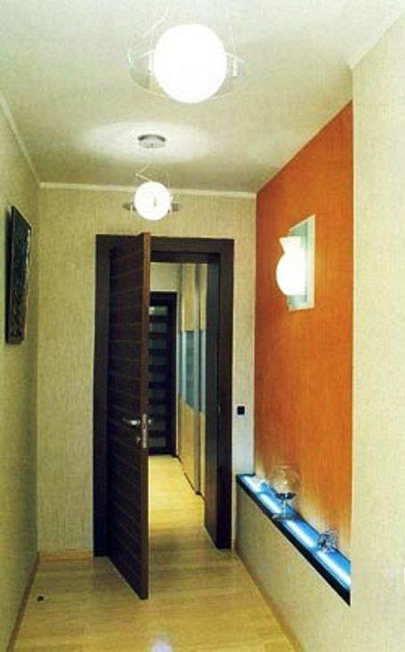 подвесные светильники в прихожей