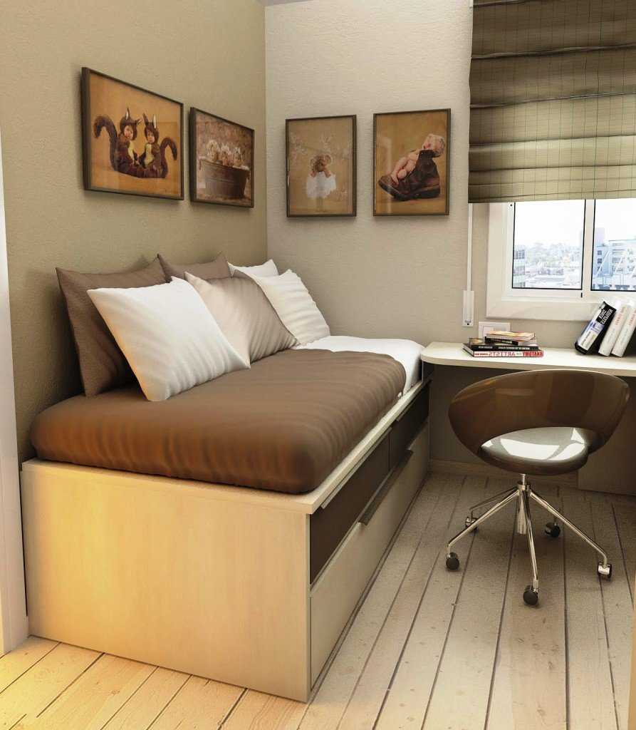 Дизайн комнаты на 6 метров