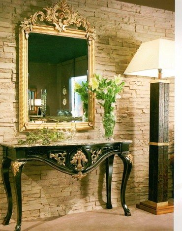 богатая оправа для зеркала