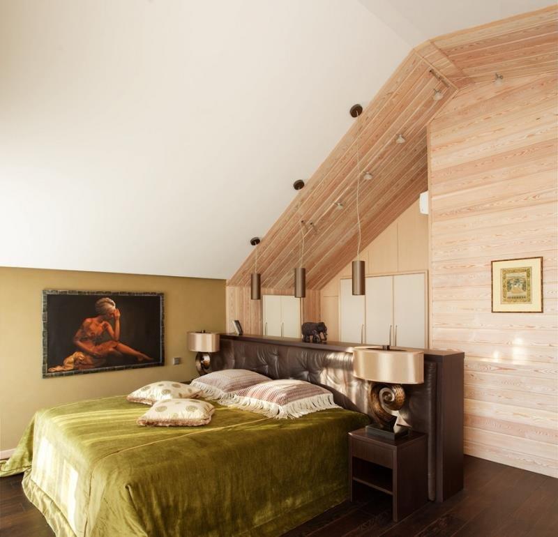 Источники света в современной спальне