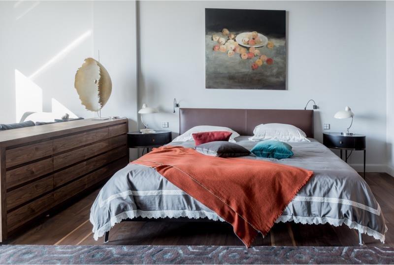 Элементы декора современной спальни