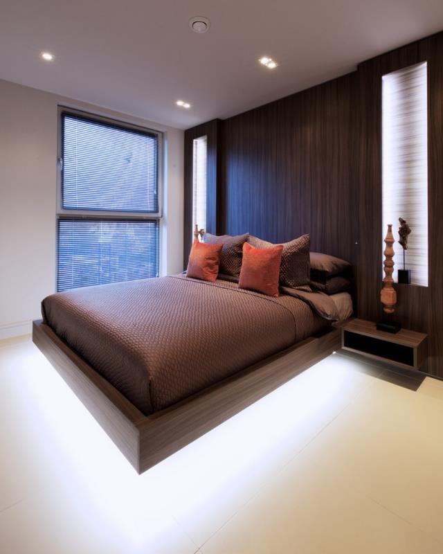 Игра света или кровать на воздушной подушке