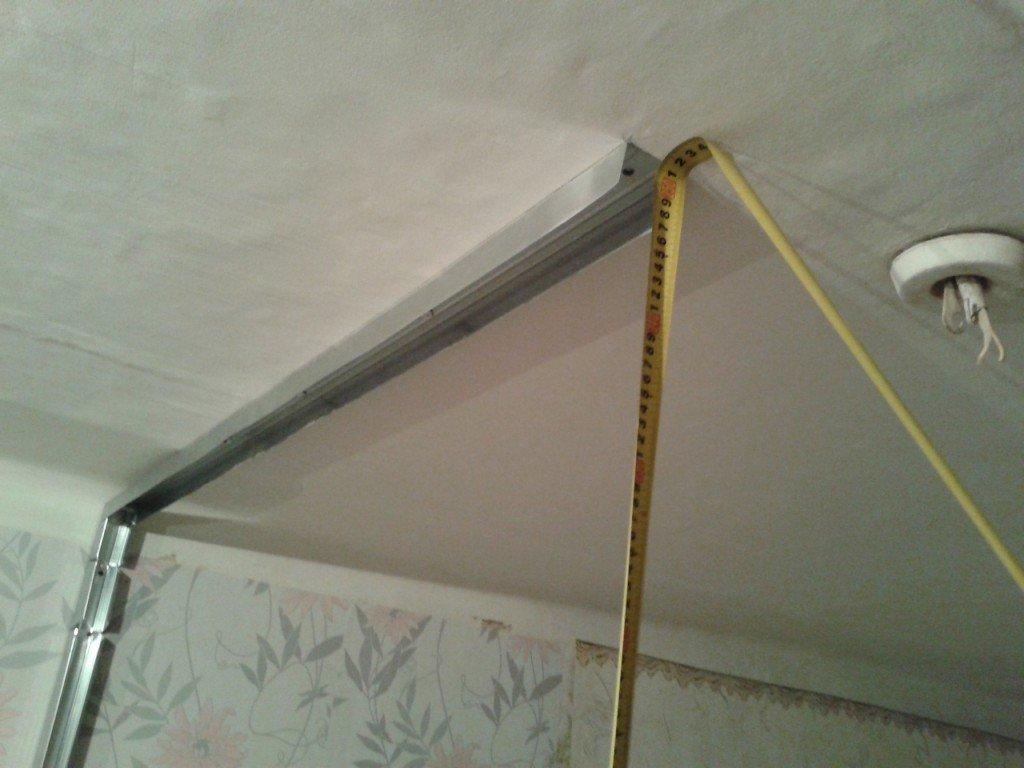 перегородка из гипсокартона в комнате