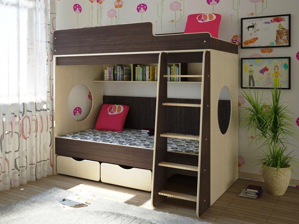 двухэтажная кровать для детской