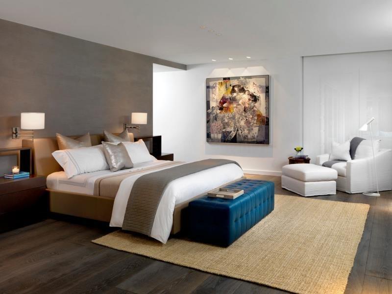Современная спальня - мастерская снов