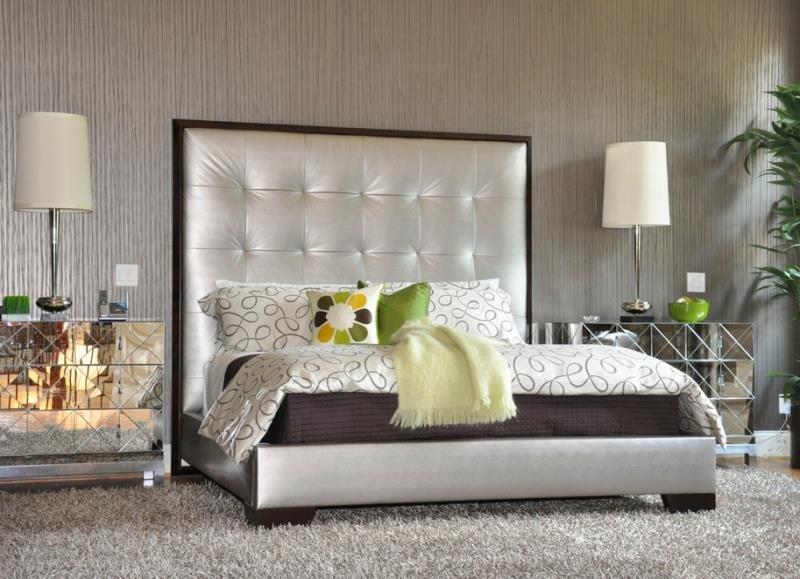 Мягкость ковра в современной спальне (США - Атланта)