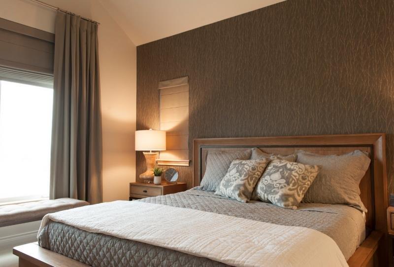 Маленькая уютная современная спальня (Канада)