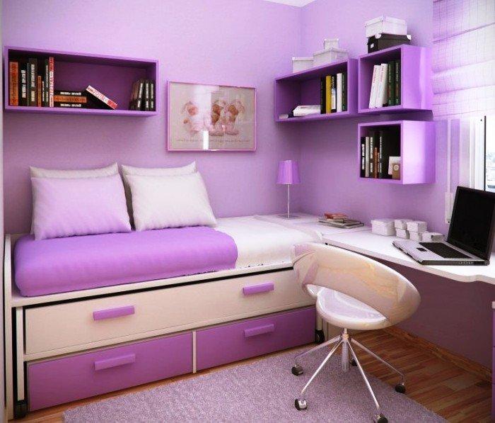 кровать-комод для маленькой детской