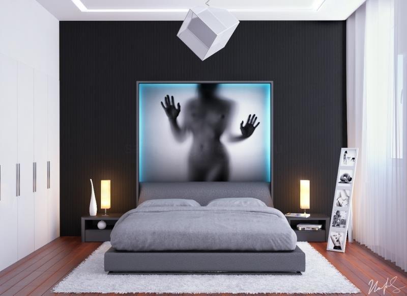 Современная спальня - идеи дизайна 2015