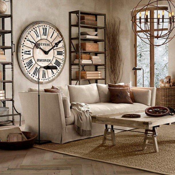 Отличительные черты эклектики – мягкая и удобная мебель