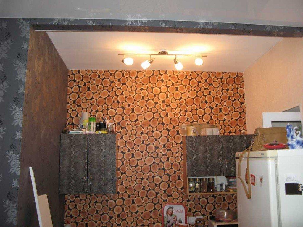 кухонное пространство под монтаж вытяжки