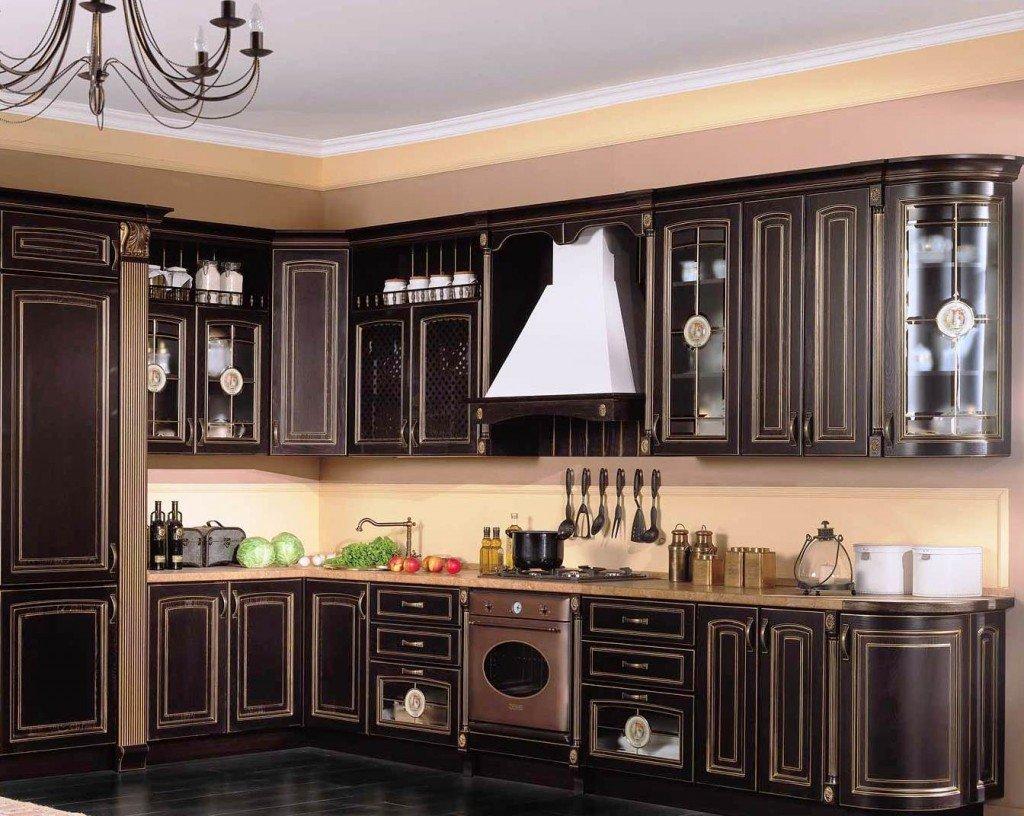 Деревянные кухонные фасады