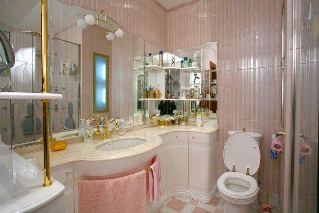 Идеи для интерьера маленькой ванной