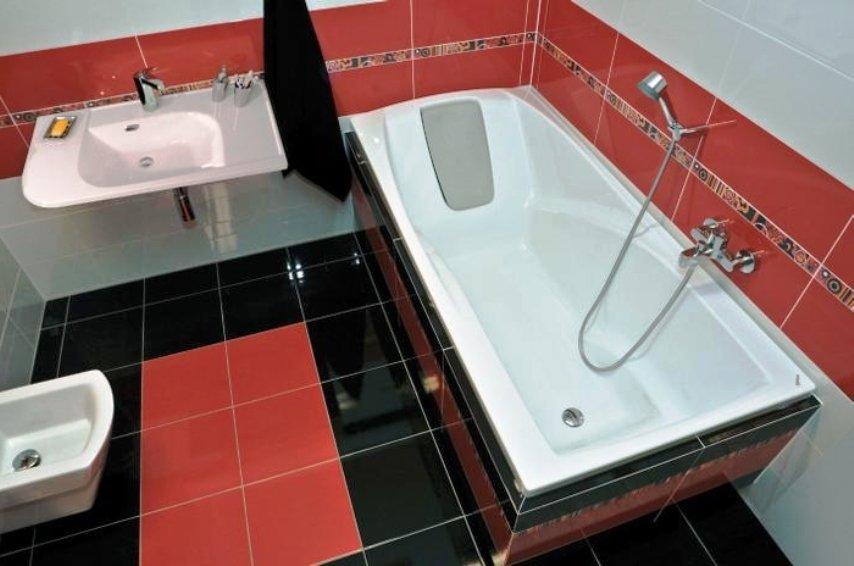 как выбрать прямоугольную ванну