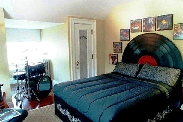 дизайн комнаты молодого человека