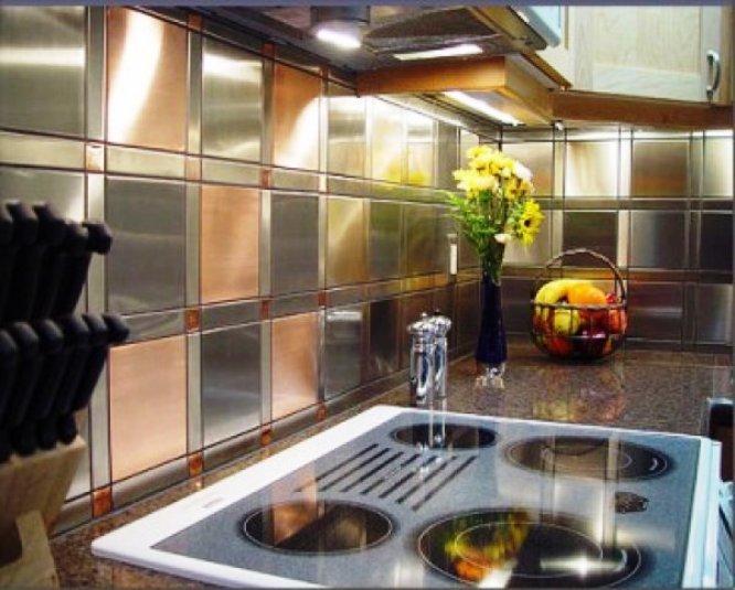 Covering kitchen tile backsplash