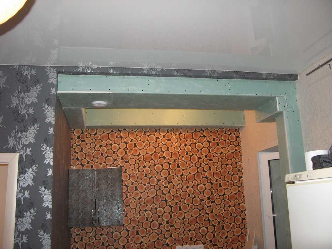 вытяжка для ванной и кухни закрытая коробом