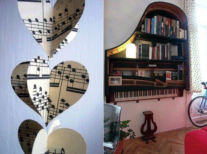 дизайн комнаты в музыкальном стиле