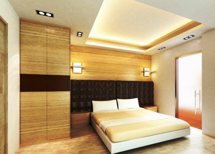 Дизайн гипсокартонных потолков для спальни