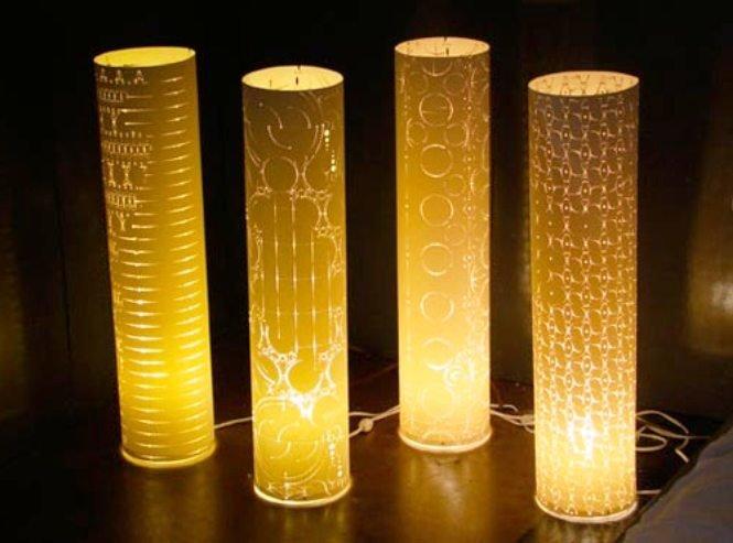 настольные светильники