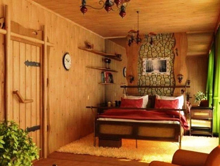 "спальни в стиле ""назад к природе"""