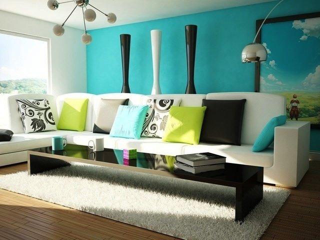 подушки как элемент декора квартиры