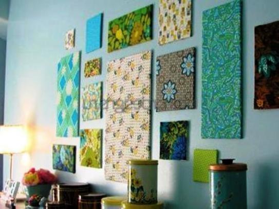 картины из текстиля в качестве декора стен