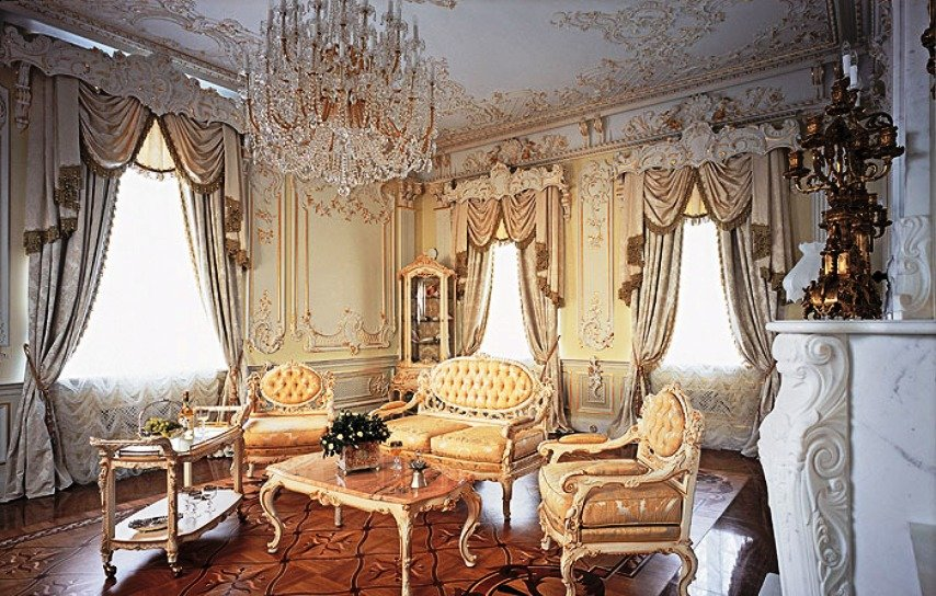 царский стиль интерьера