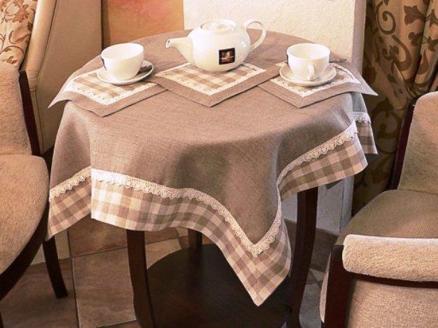 текстиль в оформлении столовой зоны