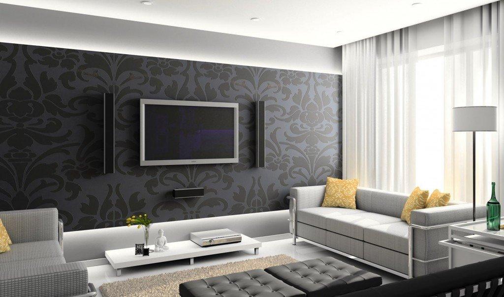 практичные цвета в оформлении гостиной