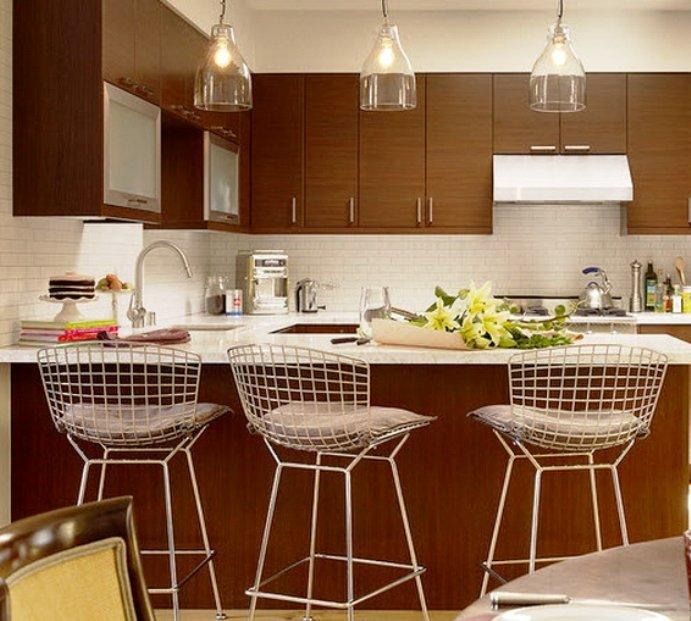 комбинированные материалы для стульев в современном стиле