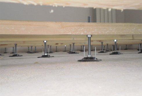 шпильки для установки лаг