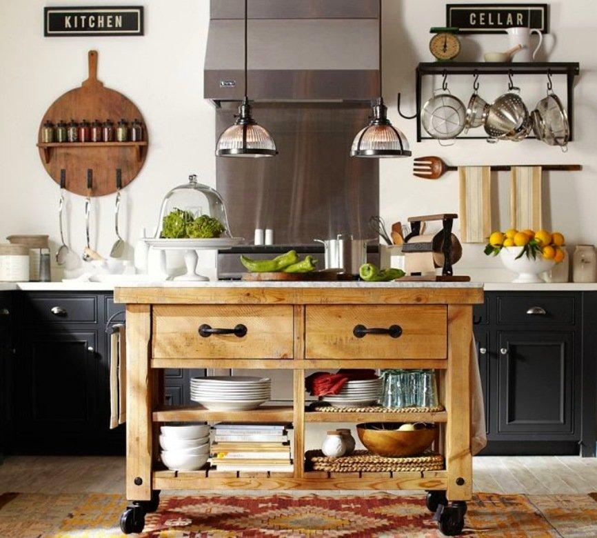 идеи декорирования стен на кухне