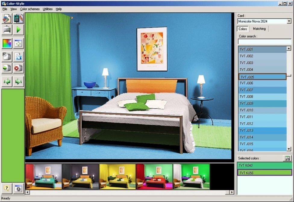 Программы для моделирования цвета стен